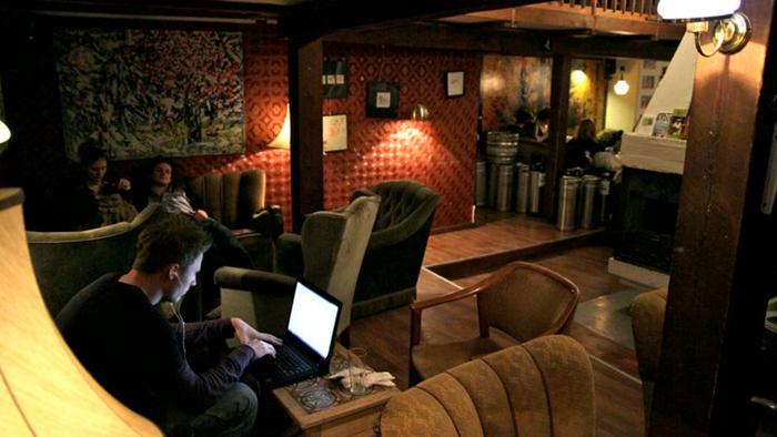 Café Retro free Wi-Fi in Copenhagen