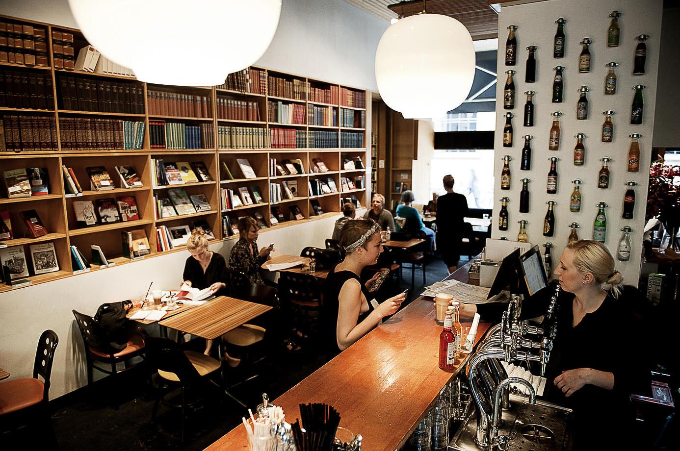 Paludan Bogcafé free Wi-Fi in Copenhagen